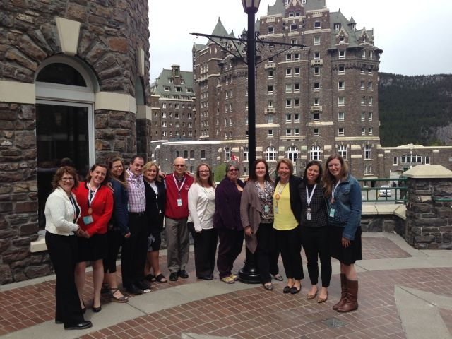 CPRS Ascend 2014 Northern Lights attendees