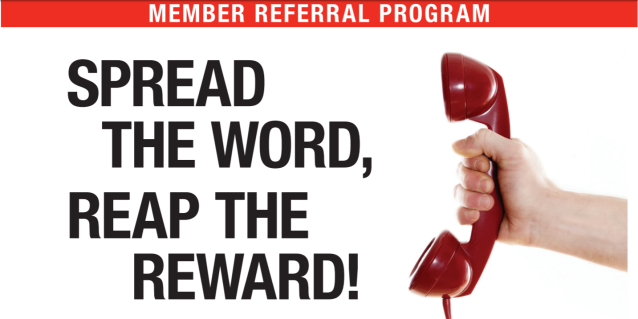 member referral program